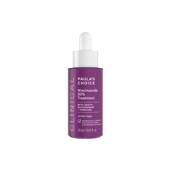 Paula's Choice claims CLINICAL Niacinamide 20% Treatment
