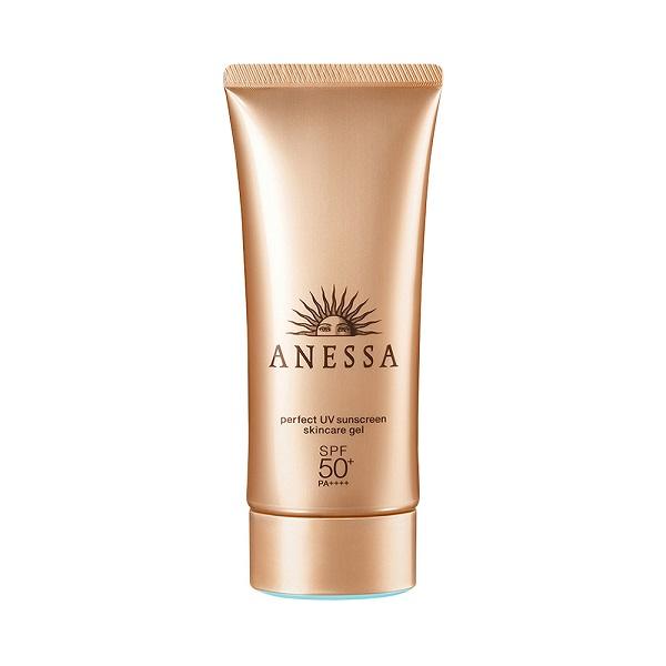 dùng kem chống nắng anessa trong các bước chăm sóc da