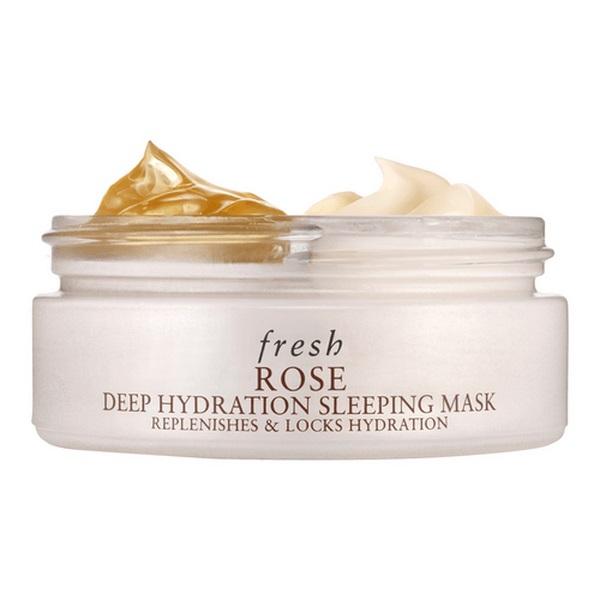 mặt nạ ngủ dưỡng ẩm sâu fresh hoa hồng