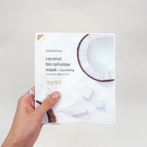 review innisfree coconut bio cellulose mask