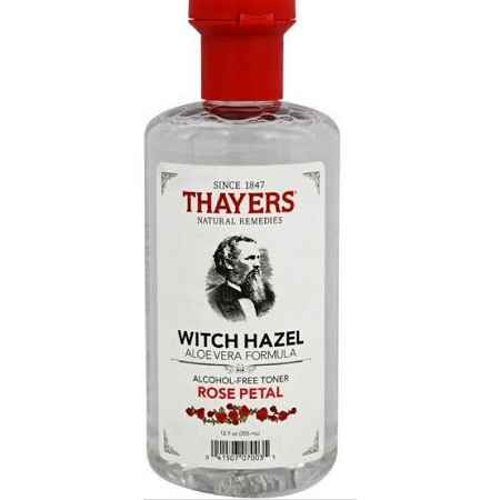 Thayers Rose Petal Witch Hazel Toner With Aloe Vera
