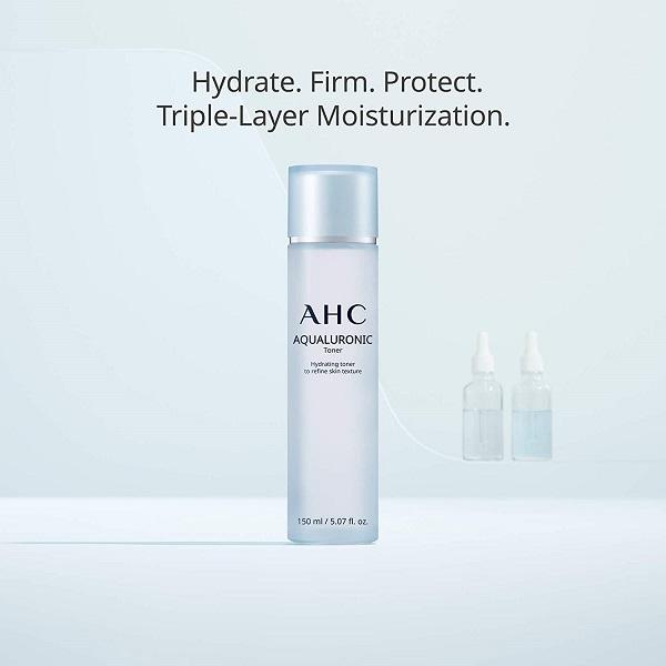 Tốt nhất cho da mất nước AHC Aqualuronic Toner