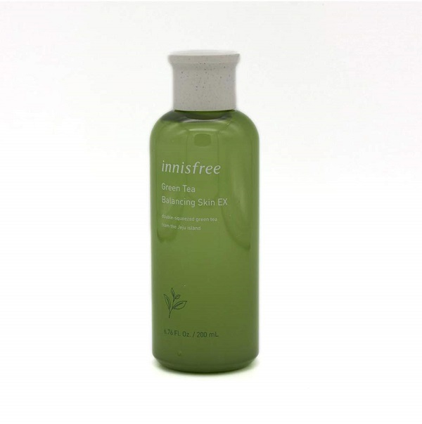 toner tốt nhất cho da hỗn hợp Innisfree Green Tea Balancing Skin