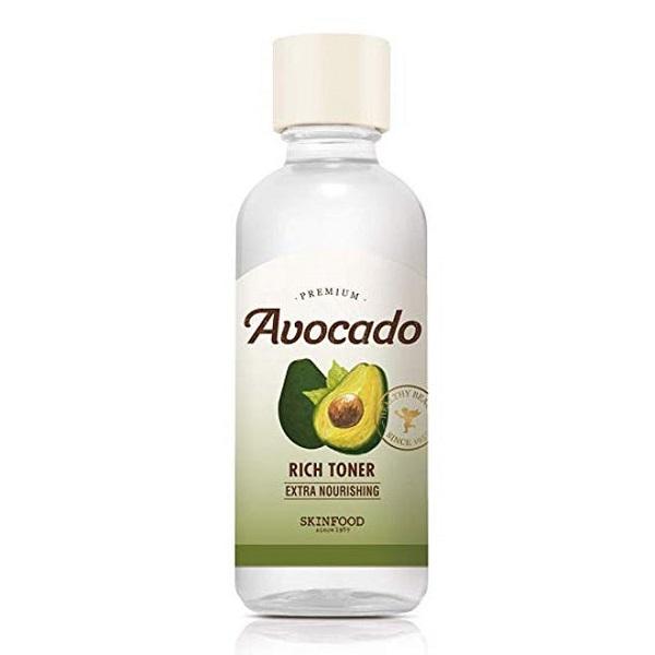 tốt nhất cho da khô Skin Food Premium Avocado Rich Toner