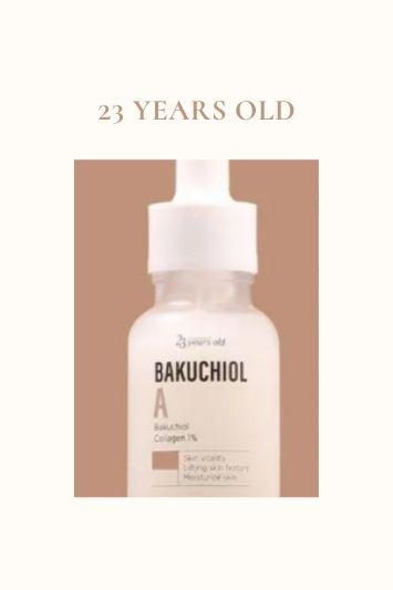 23 years old bakuchiol