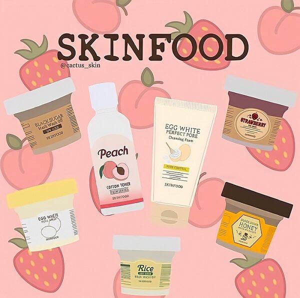 thương hiệu mỹ phẩm skinfood